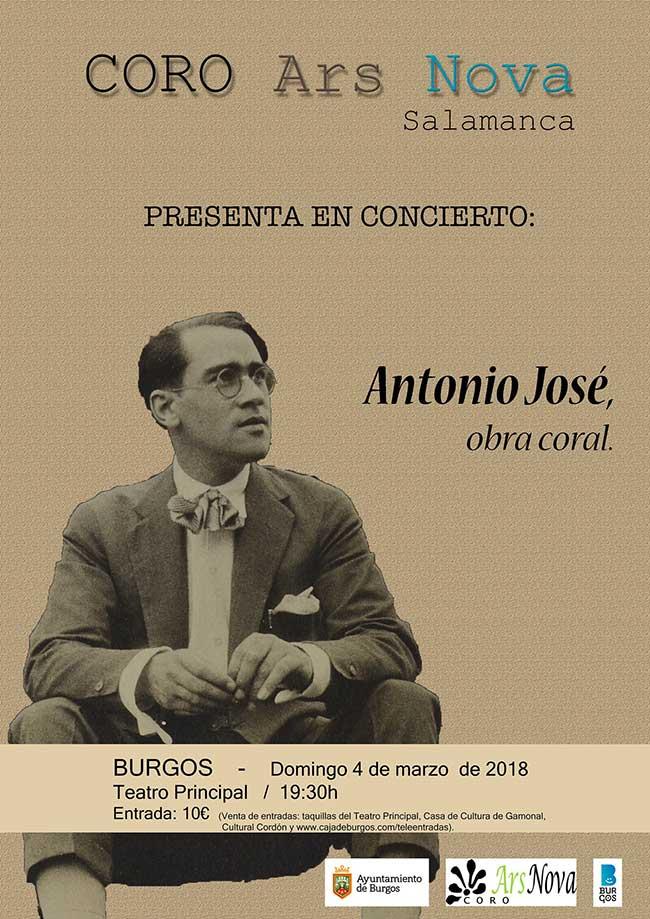 Antonio José, obra coral